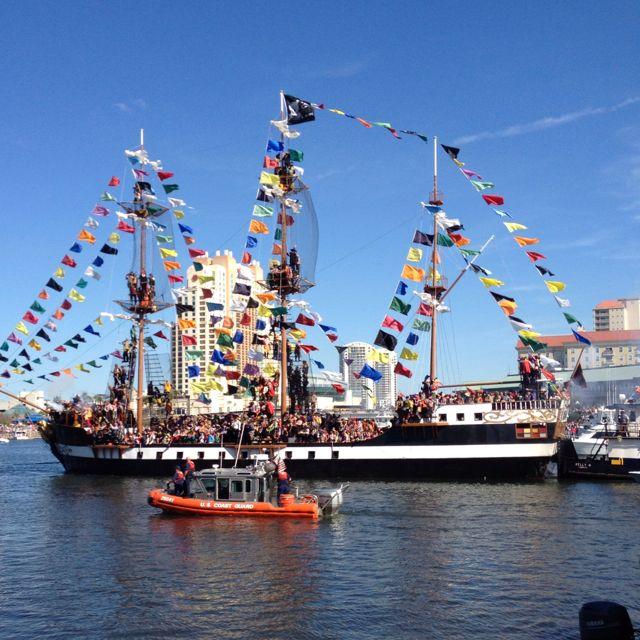 Gasparilla Invasion Parade Tampa Bay Carcredittampa Happy