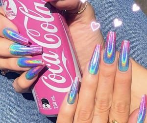 ❤️ if you want this nails  on We Heart It