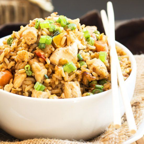 A Gluten Free Chicken Fried Rice Recipe That Tastes As
