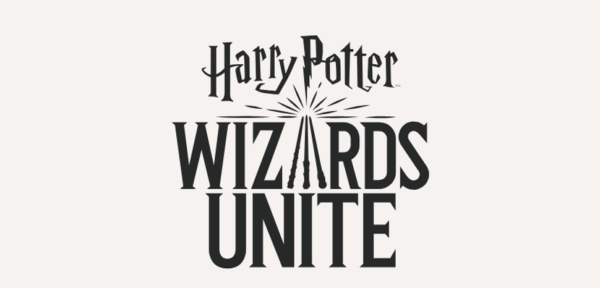 Harry Potter Wizards Unite Logo B W Created By Fans For Fans We Ve Read Your Comments Tweets And Emails We Ar Game Harry Potter Wizard Superhero Stories