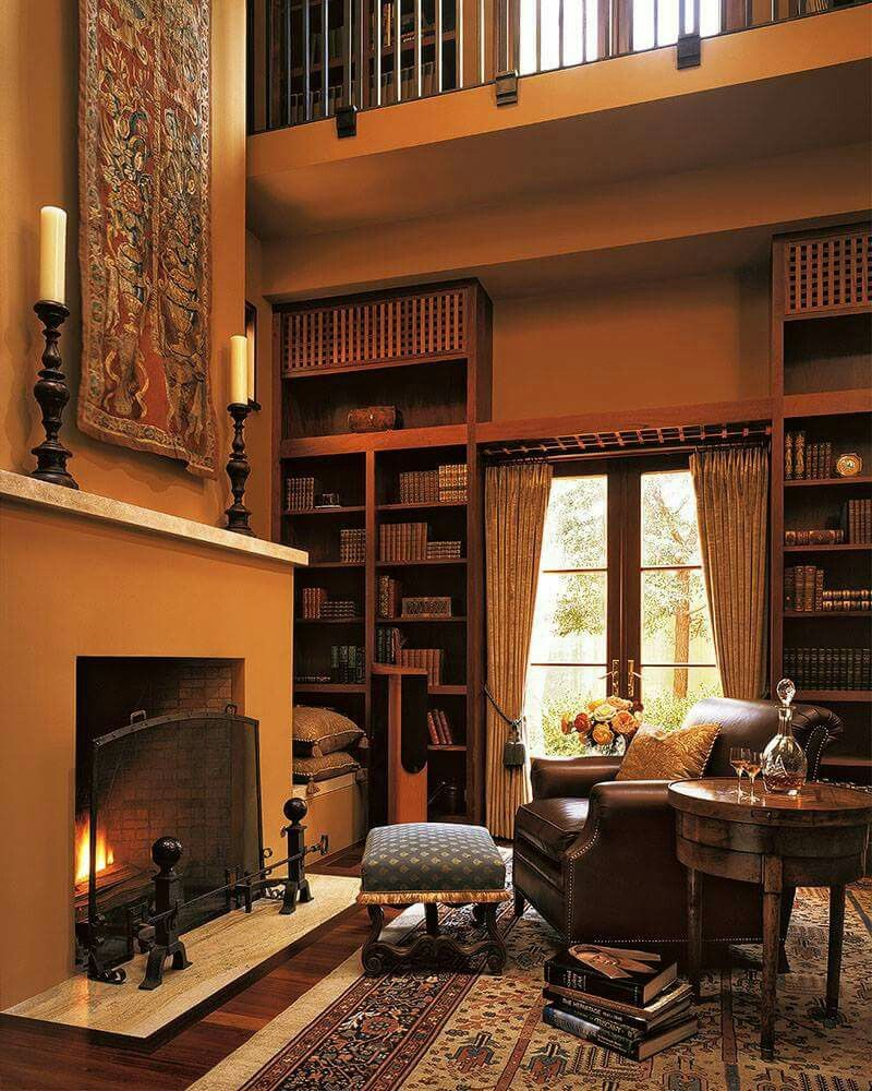 Pin by John Routos on Fireplaces, Hearths some with books ...