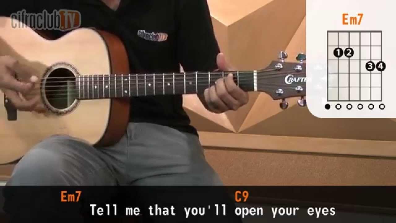 Open Your Eyes - Snow Patrol (aula de violão)