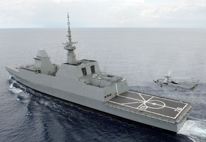 Republic of Singapore Navy stealth multi-mission frigate