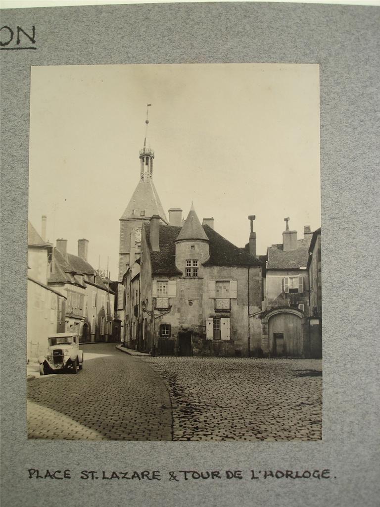 Avallon in 1920s