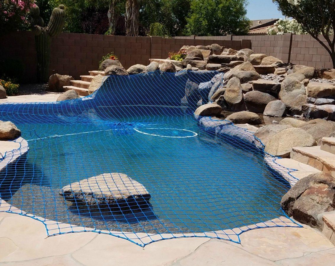 Katchakid Pool Safety Net Installation Pool Pool Safety Net Pool Nets