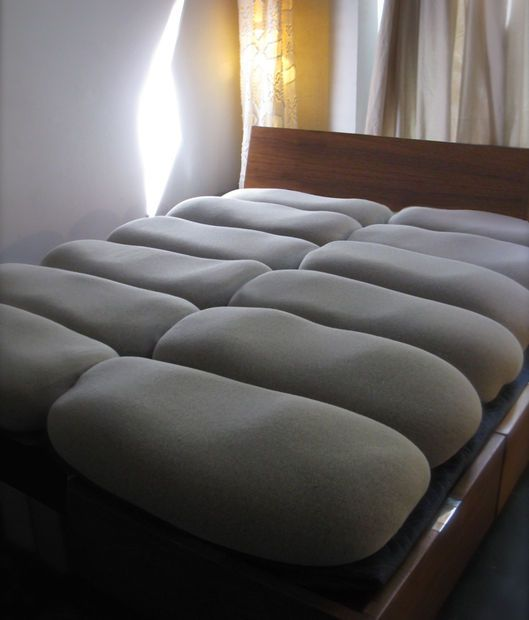 Make Your Own Buckwheat Hull Mattress A No Sew Project Diy Mattress Diy Bed Mattress Material
