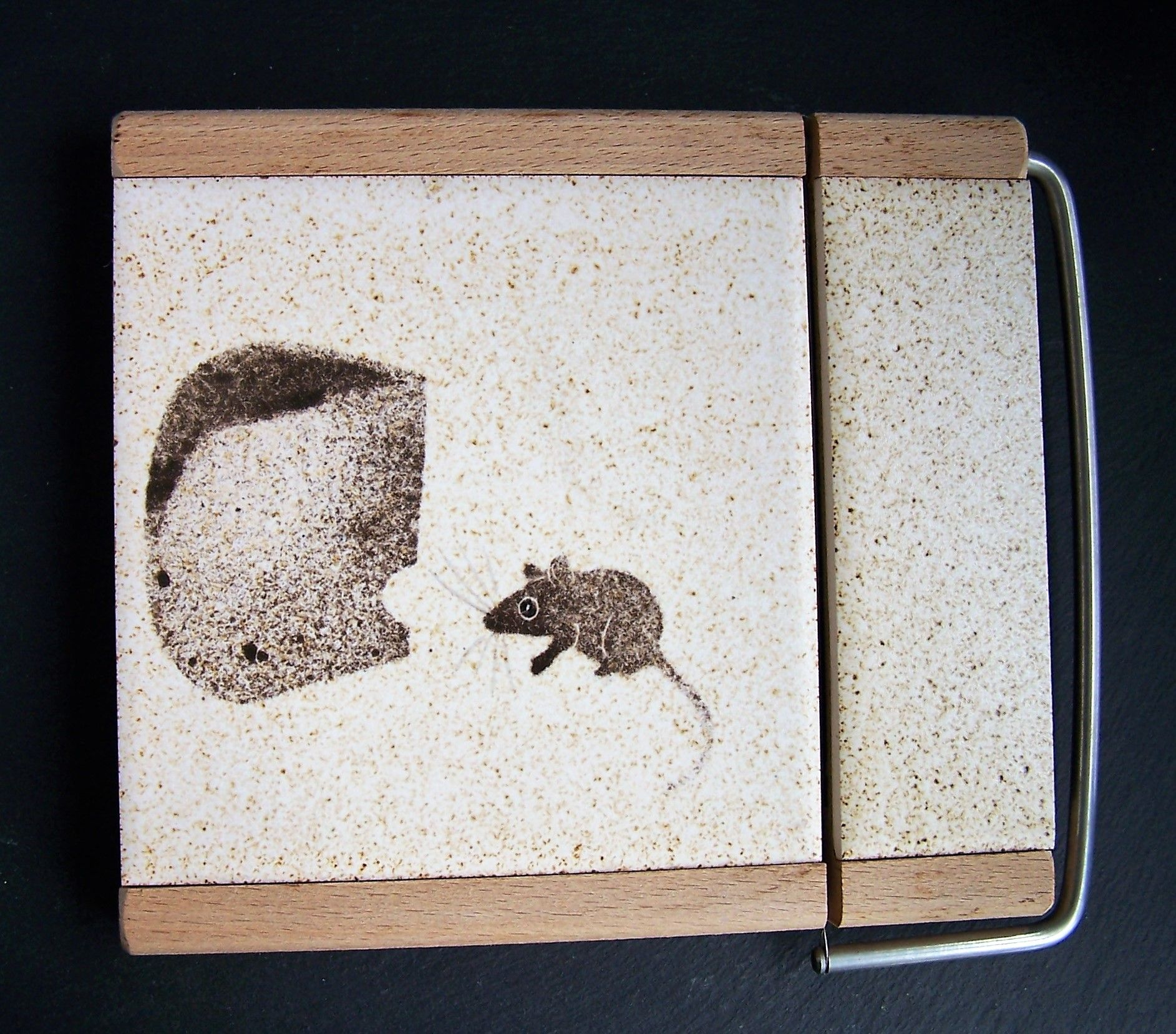 A sweet cheese board and wire cutter, made by \'Wood Wot Knots ...