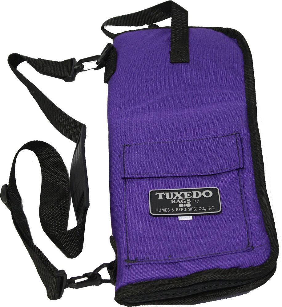 Humes & Berg Tuxedo Drum Stick Bag Purple Color TX8001P #HumesandBerg