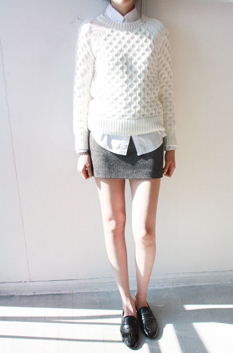 Loafers/skirt