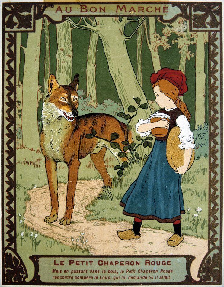 Original Red Riding Hood Fairy Tale