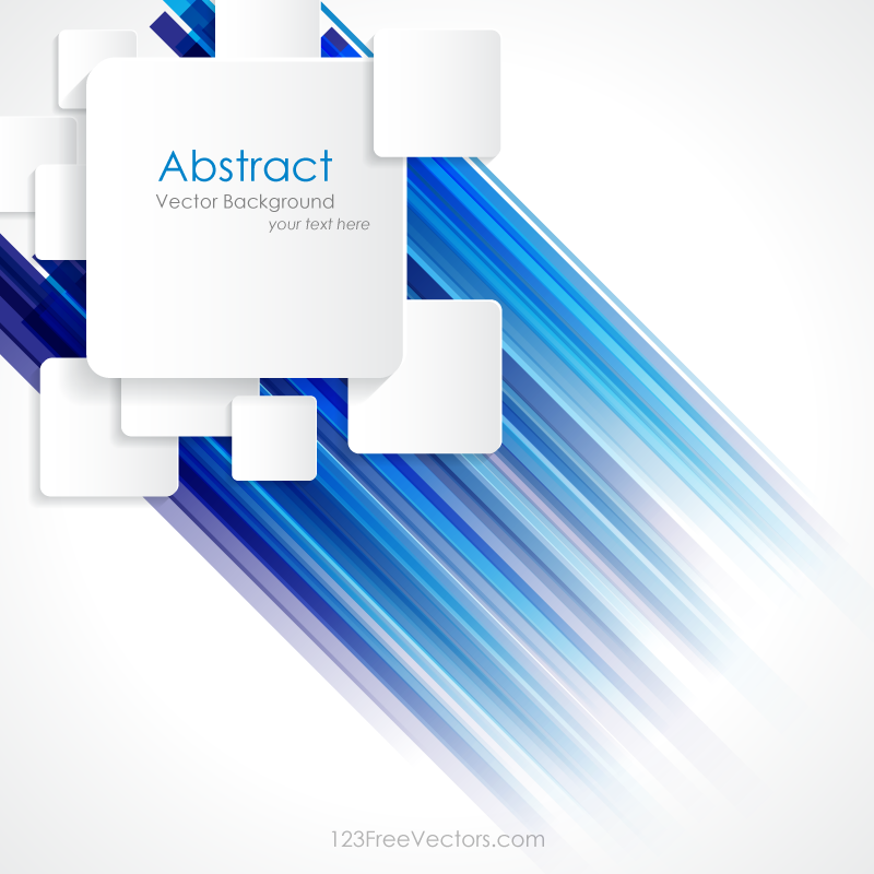 Abstract Blue Lines Colorful Background With Square Design Colorful Backgrounds Square Design Free Vector Graphics