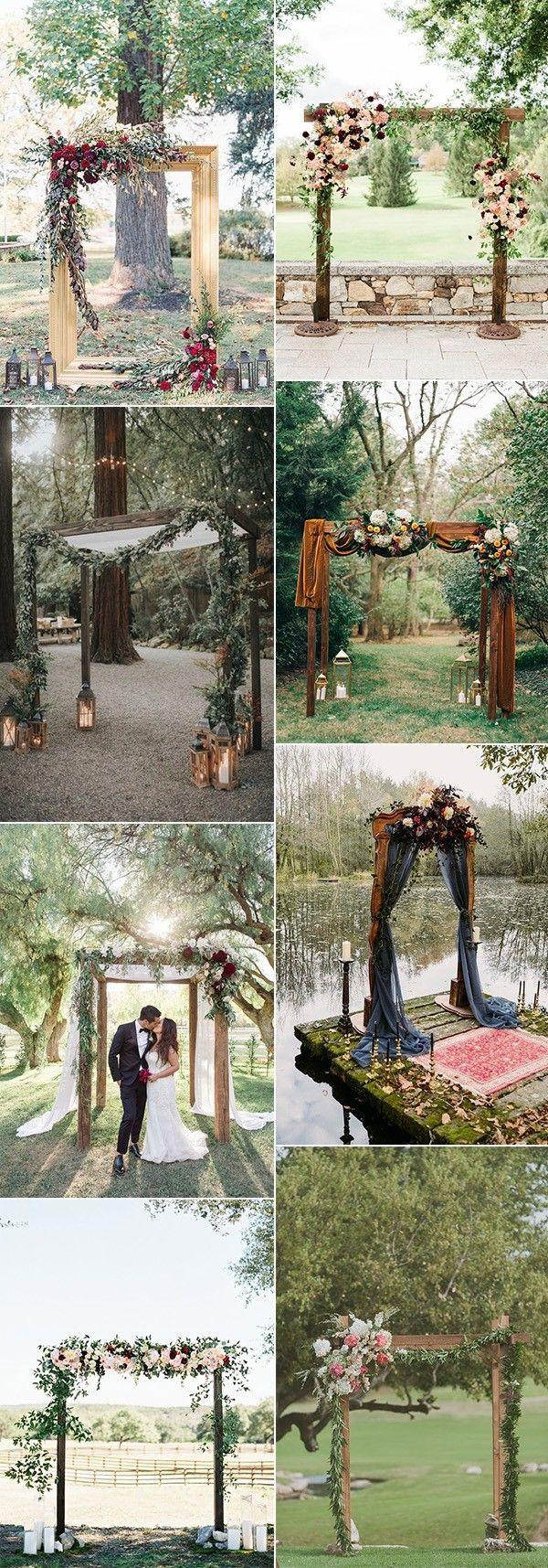 20 Outdoor Fall Wedding Arches for 2019 #fallweddingideas