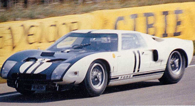 Selected Sports Car Racing History Ford Gt40 Ford Gt Sports