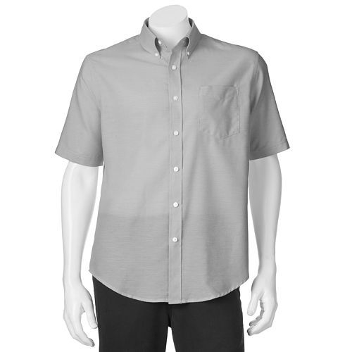 Croft & Barrow® Solid Oxford Easy-Care Casual Button-Down Shirt - Men