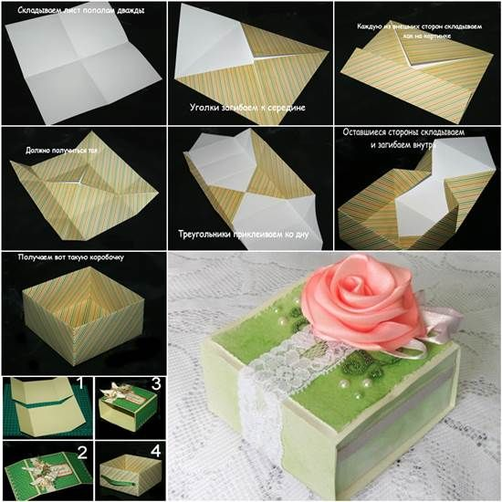 How to DIY Origami Paper Gift Box | Diy photo, Facebook and ...
