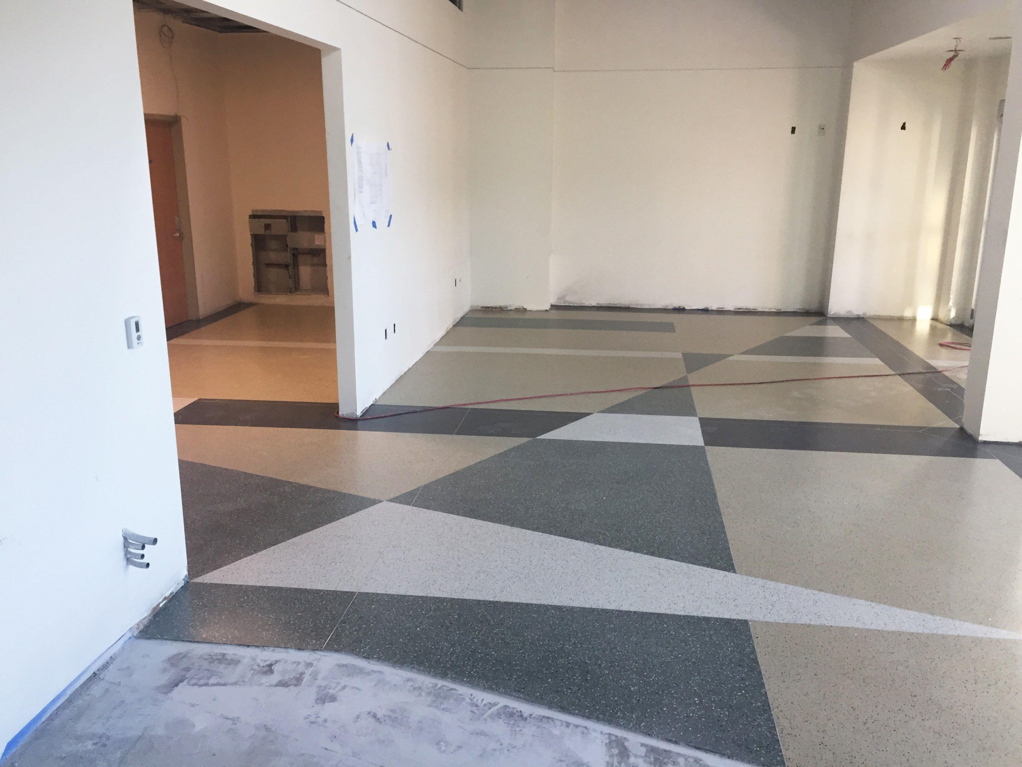 Epoxy Terrazzo Floors At Halifax Health In Florida Www