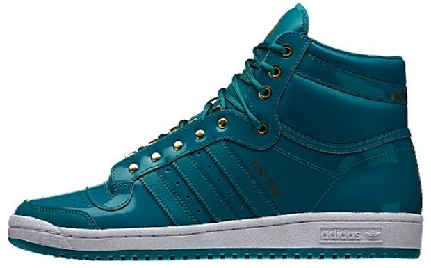 "adidas Top Ten Hi ""Blast Emerald"" in 2019"