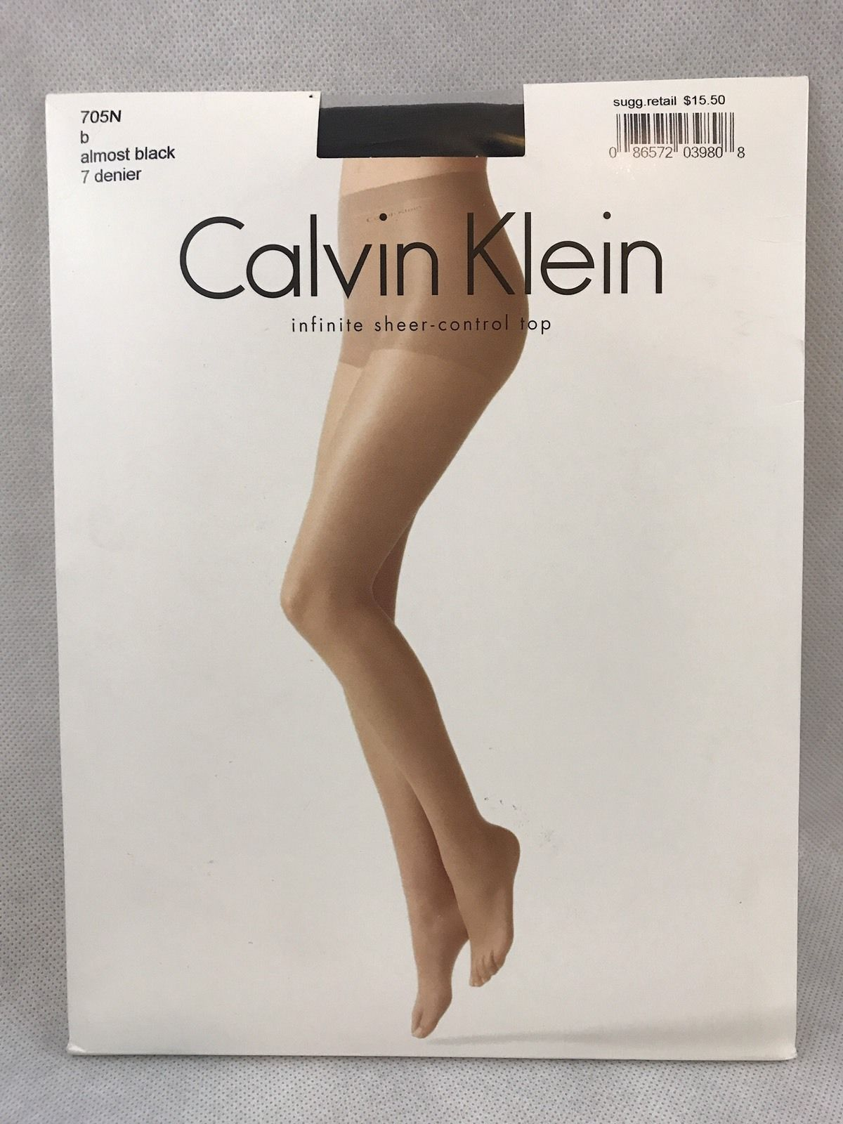 476096fc87296 Calvin Klein Infinite Sheer Control Top Pantyhose Almost Black Size B |  Clothing, Shoes & Accessories, Women's Clothing, Hosiery & Socks | eBay!