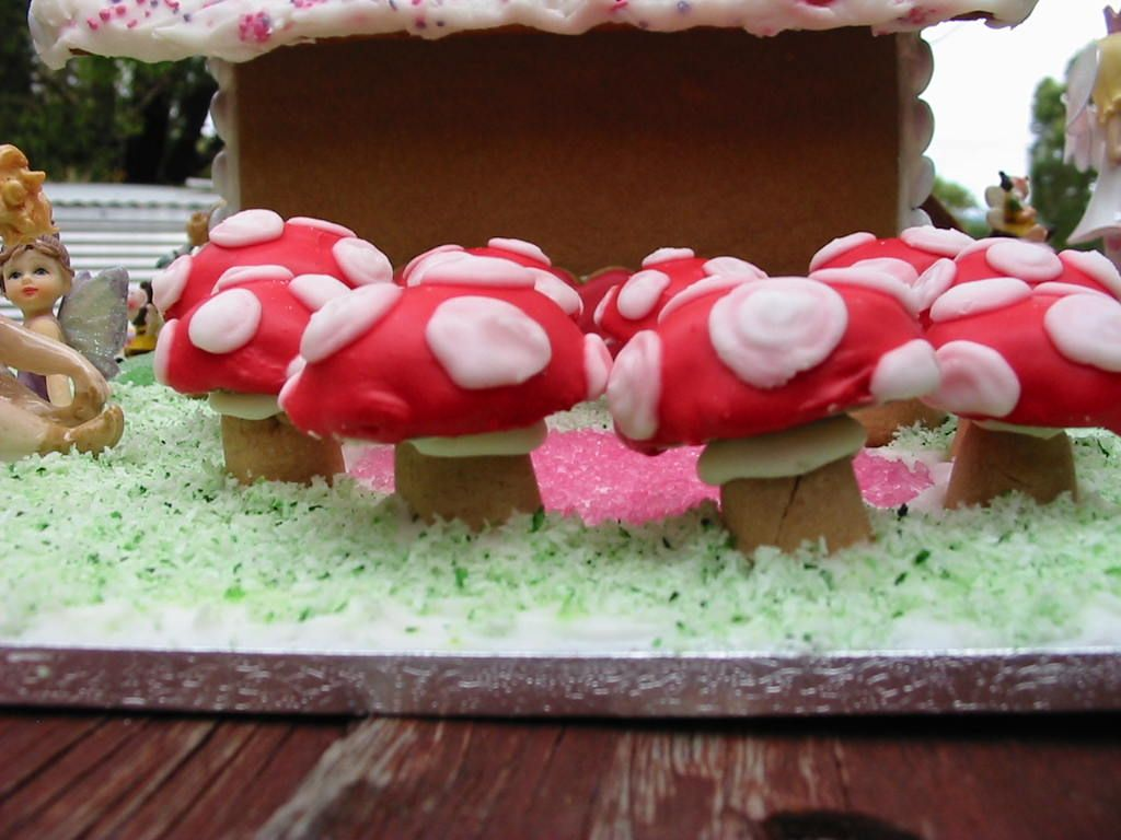 Charlotte's Gingerbread Fairy House # 6