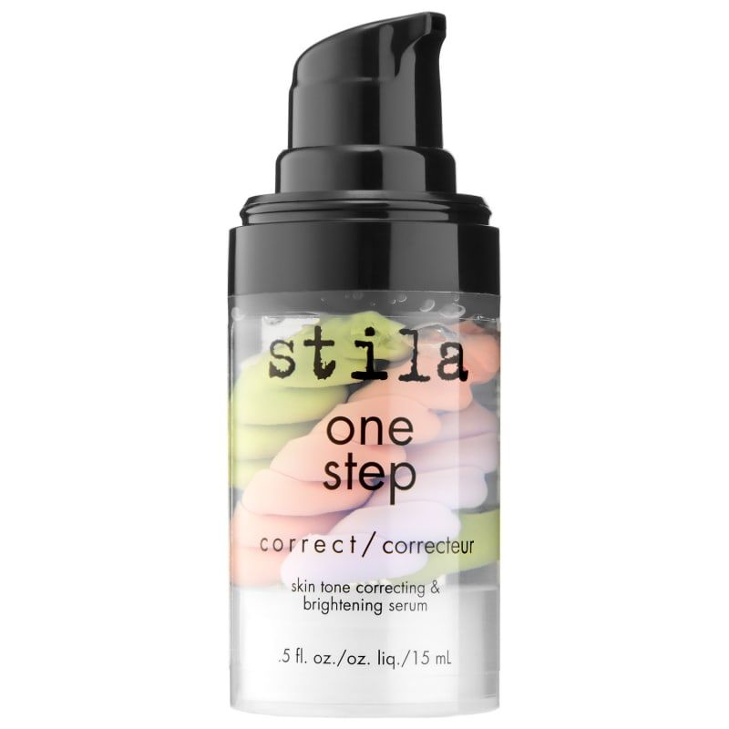 'Stila One Step Correct: this is a must have if you have uneven skin tones. It looks really weird in the bottle but blends in amazingly with all skin tones. Works really well as a base under powder foundation, too.'
