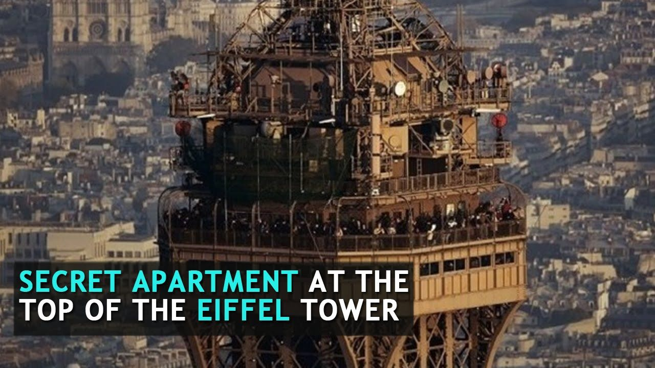 There is a secret apartment at the top of the eiffel tower for Apartment in eiffel tower