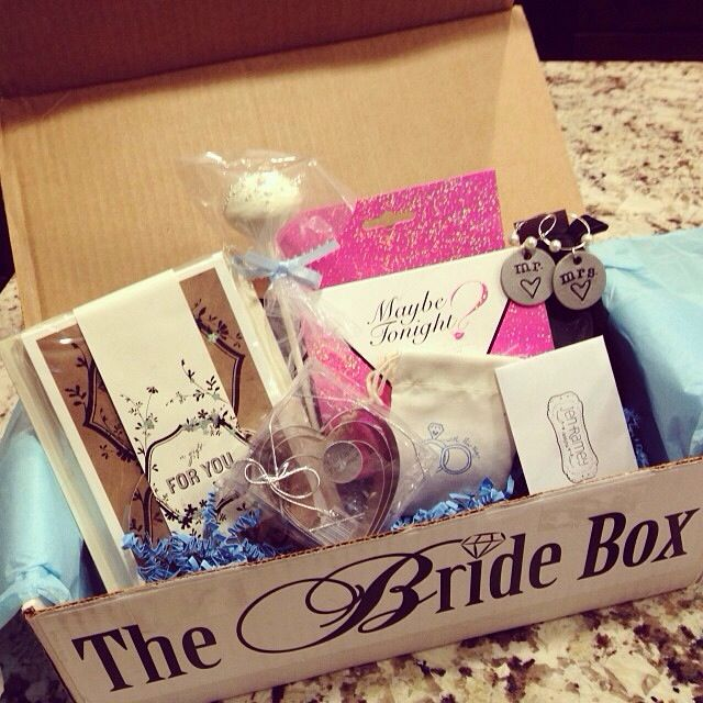 Gift The Bride Box Jen Bride Gifts Wedding Gifts For