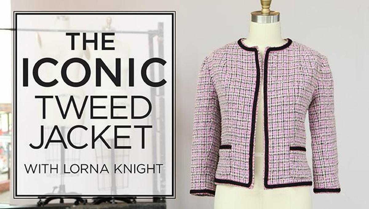 The Iconic Tweed Jacket | Gestalten und Nähen