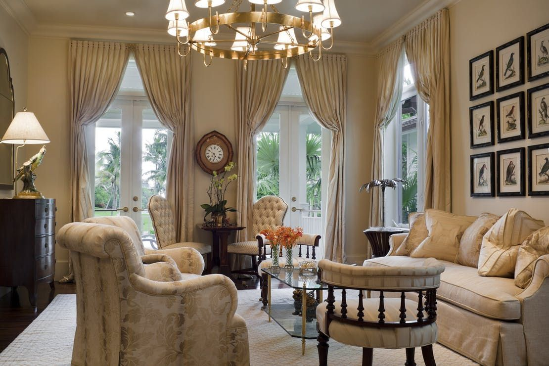 Coral Gables Single Family   Living  TraditionalNeoclassical by Eva Quateman