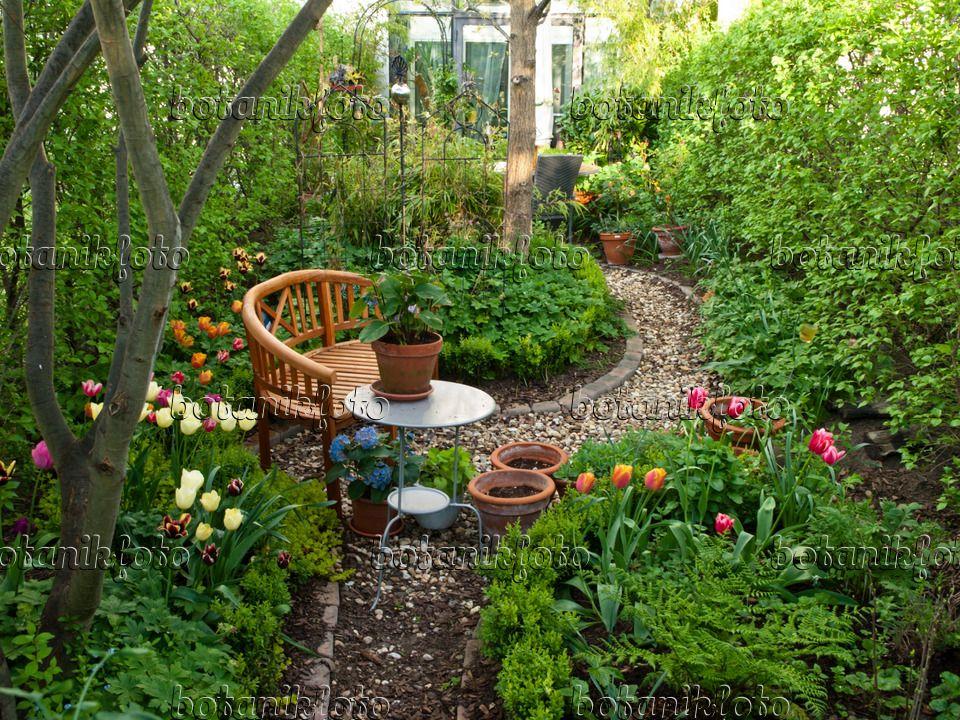 460053 - Reihenhausgarten mit Sitzplatz Garten Sitzecke - reihenhausgarten vorher nachher