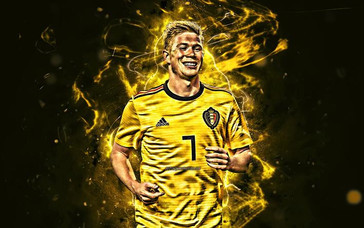 Download wallpapers Kevin De Bruyne, yellow uniform ...