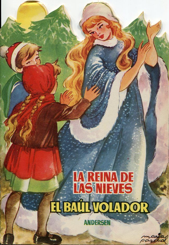 La reina de las nieves. Serie Topacio. 1955.