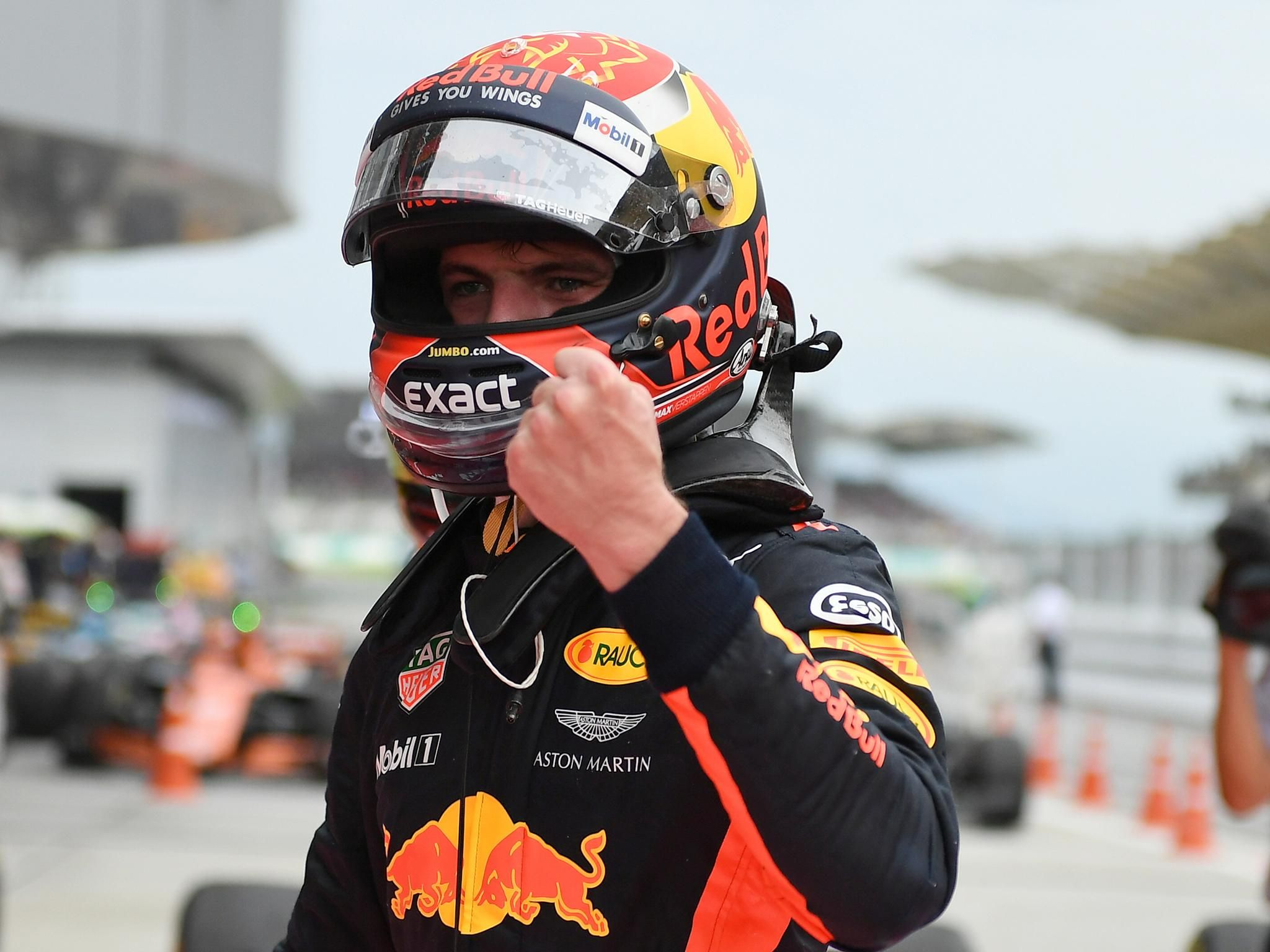 Max Verstappen Beats Lewis Hamilton As Sebastian Vettel Crashes After Finishing Fourth Max Verstappen Lewis Hamilton Max