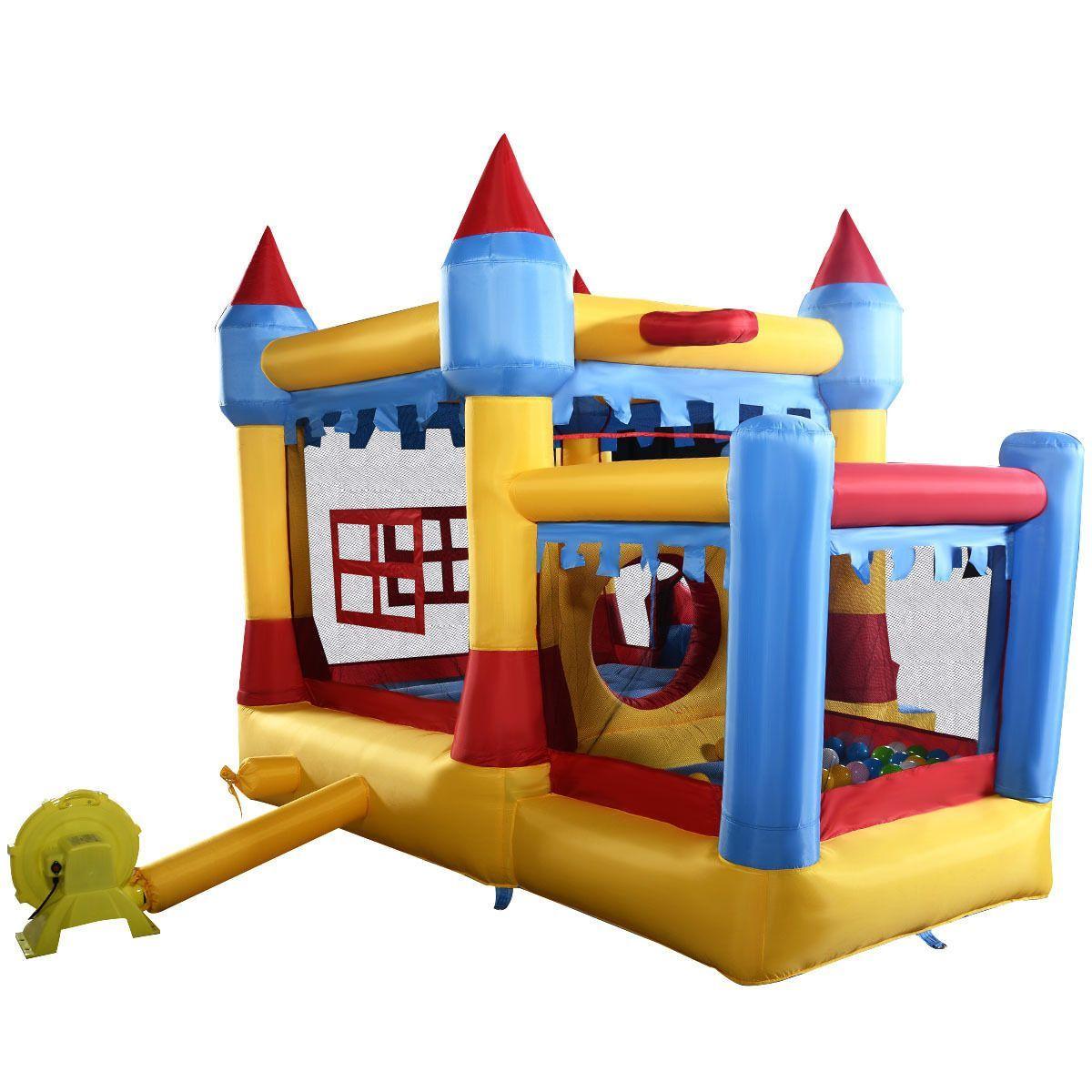 Inflatable Water Slide Rental Kansas City: Inflatable Bounce House Castle Commercial Kids Jumper