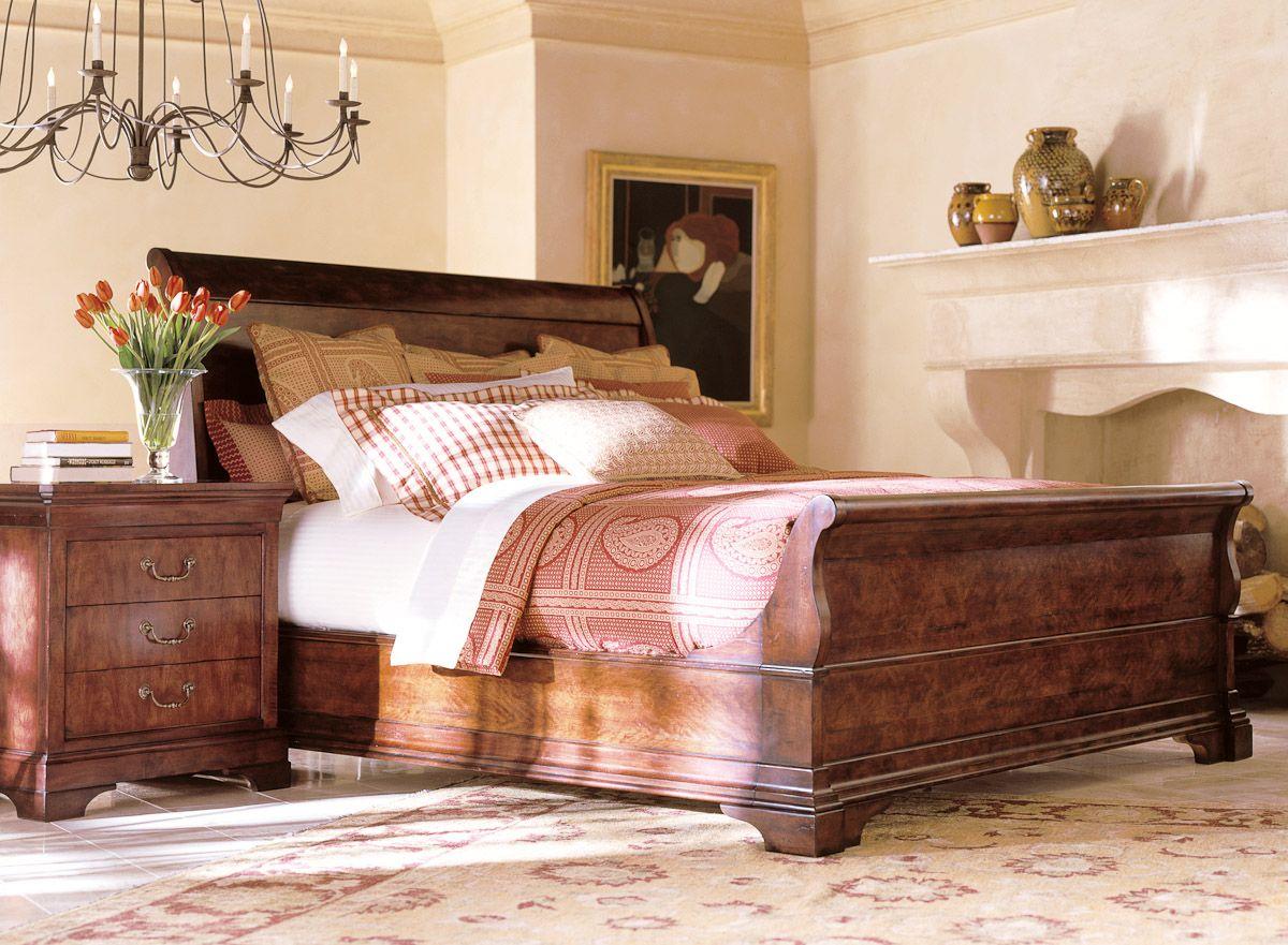Henredon Cavalier Bed Bedroom Broyhill Bedroom
