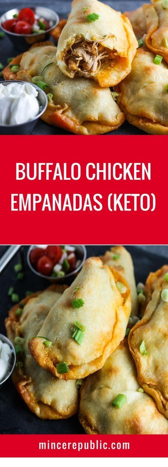 Buffalo Chicken Empanadas #ketomealplan