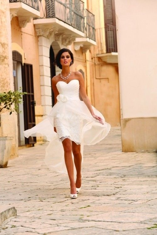 10 Robes De Mariée Courtes 2014 Robe Mariage Robe De