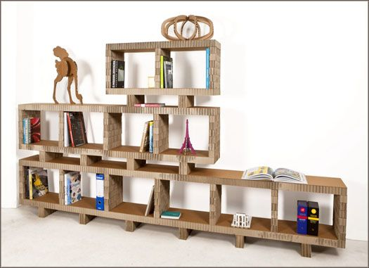 how to make cardboard furniture. Discover All The Information About Product Modular Shelf / Contemporary Cardboard BOOKSTACK - Design And Find Where You Can Buy It. How To Make Furniture A
