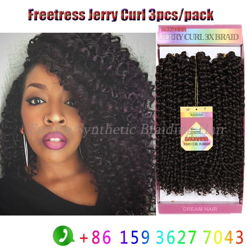 Find more bulk hair information about 2packs for a head freetress about 2packs for a head freetress synthetic hair 3xbraids crochet braid freetress deep wave twist afro jerry curly hair extensionhigh quality hair bows pmusecretfo Gallery