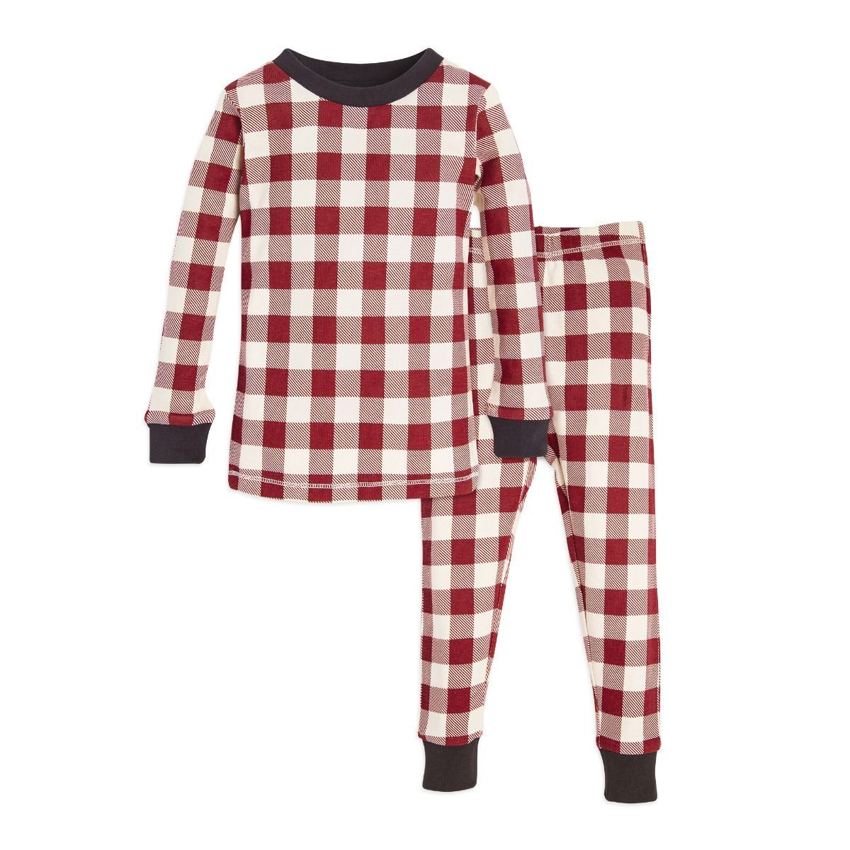 Simple Joys by Carters Unisex Baby 2-Pack Holiday Loose Fit Flame Resistant Fleece Footed Pajamas