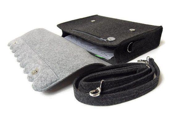 Photo of Borsa Messenger coloful con punti arcobaleno, borsa per laptop in feltro, borsa a tracolla con tracolla lunga con manico corto, borsa in feltro
