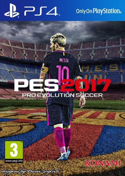 Pes 2017 Messi Custom Cover By Panosenglish Deviantart Com On Deviantart Messi Game Download Free Pro Evolution Soccer
