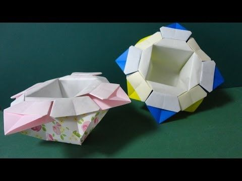 flower box origami youtube origami tutorial flower box origami youtube mightylinksfo