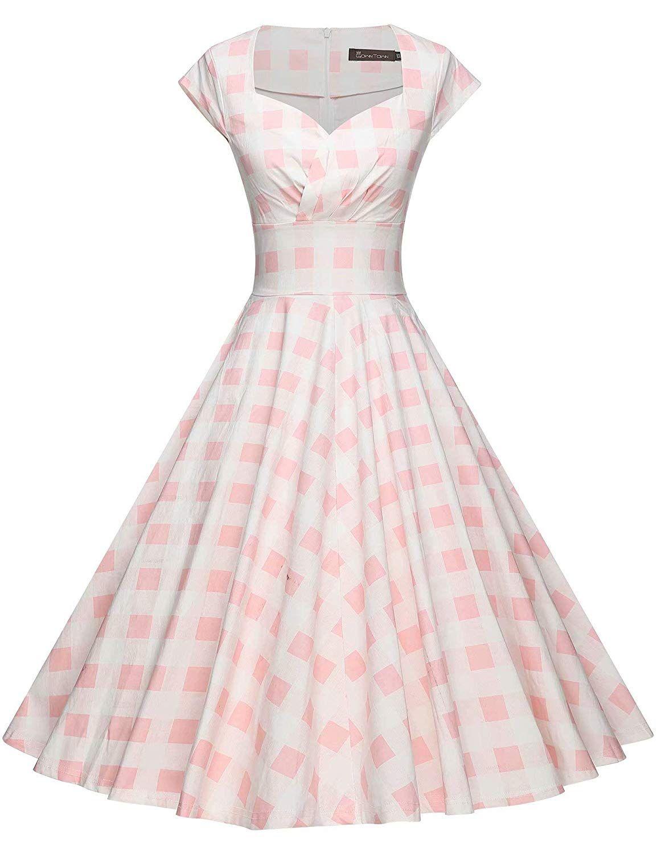 [6+] Retro Dresses Amazon