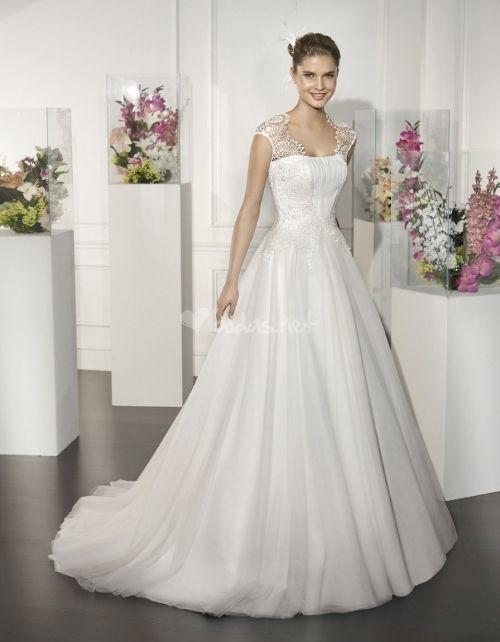 115 vestidos de novia de corte princesa para tu boda   De novia ...
