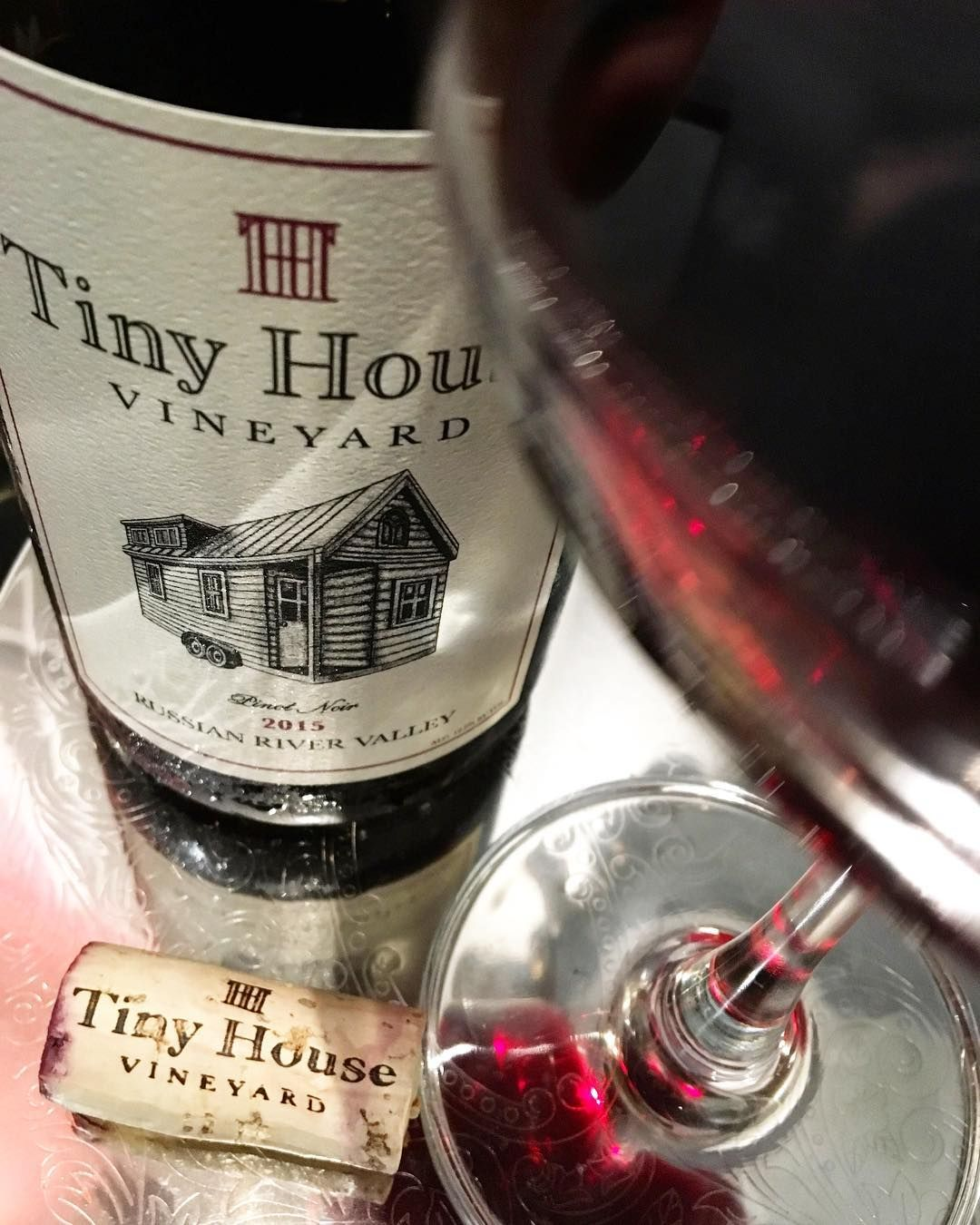 2015 Tiny House Vineyard Russian River Valley Pinot Noir Pinot Russian River Valley Pinot Noir