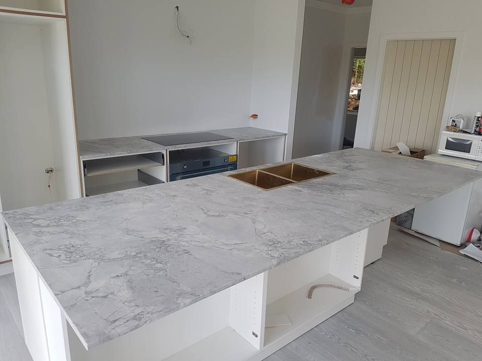 20mm Super White Dolomite From Cdk Stone And Cabinetry By