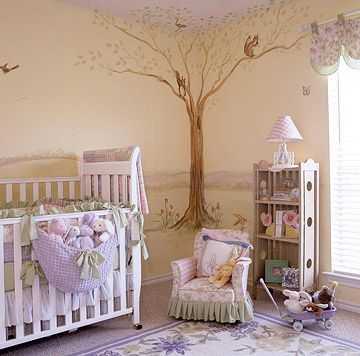 beatrix potter nursery with storybook inspiration - Pinterest Baby Room Ideas
