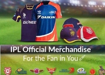 Snapdeal IPL Official Merchandise Sale Offer : Buy IPL Official Products at Best Price