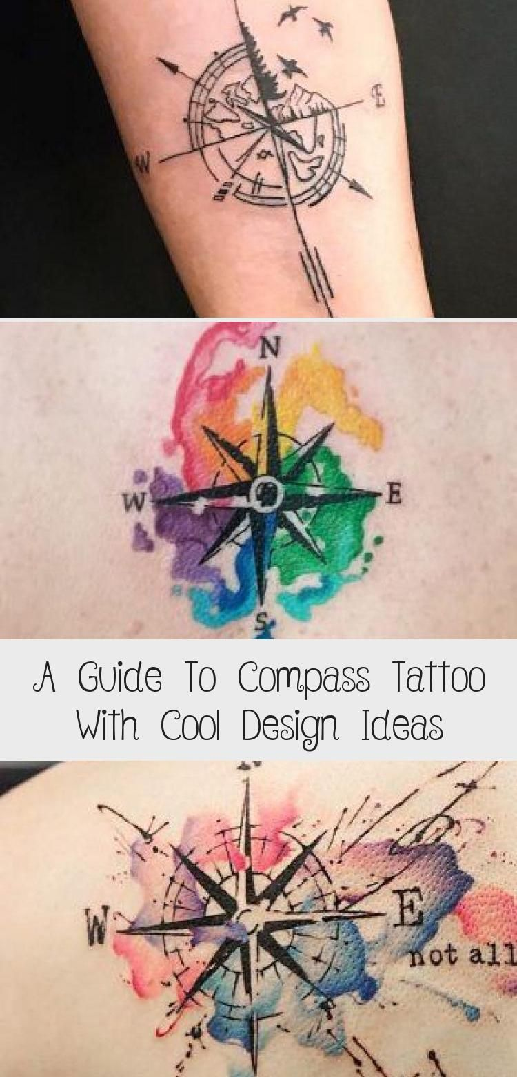 A Guide To Compass Tattoo With Cool Design Ideas Compass Tattoo