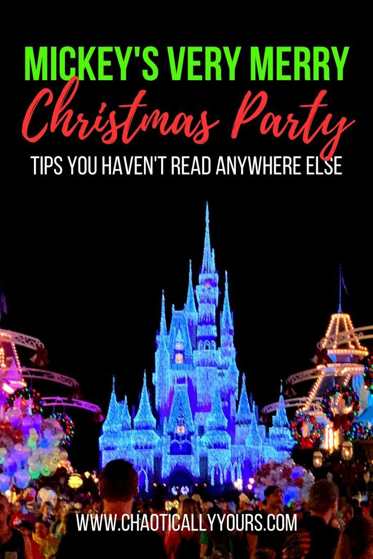 Learn all the inside secrets to Mickey's Very Merry Christmas Party at Walt Disney World's Magic Kingdom.  Find out all the details you haven't read anywhere else about Disney's Premiere Holiday Event!  #mvmcp #disneyworld